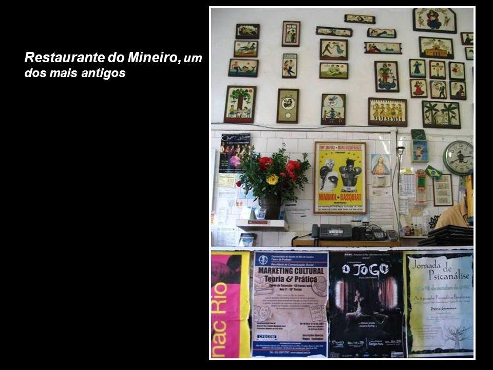 Restaurante do Mineiro, um dos mais antigos
