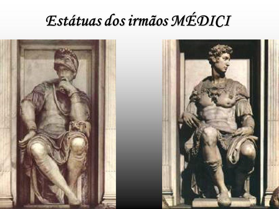 Estátuas dos irmãos MÉDICI