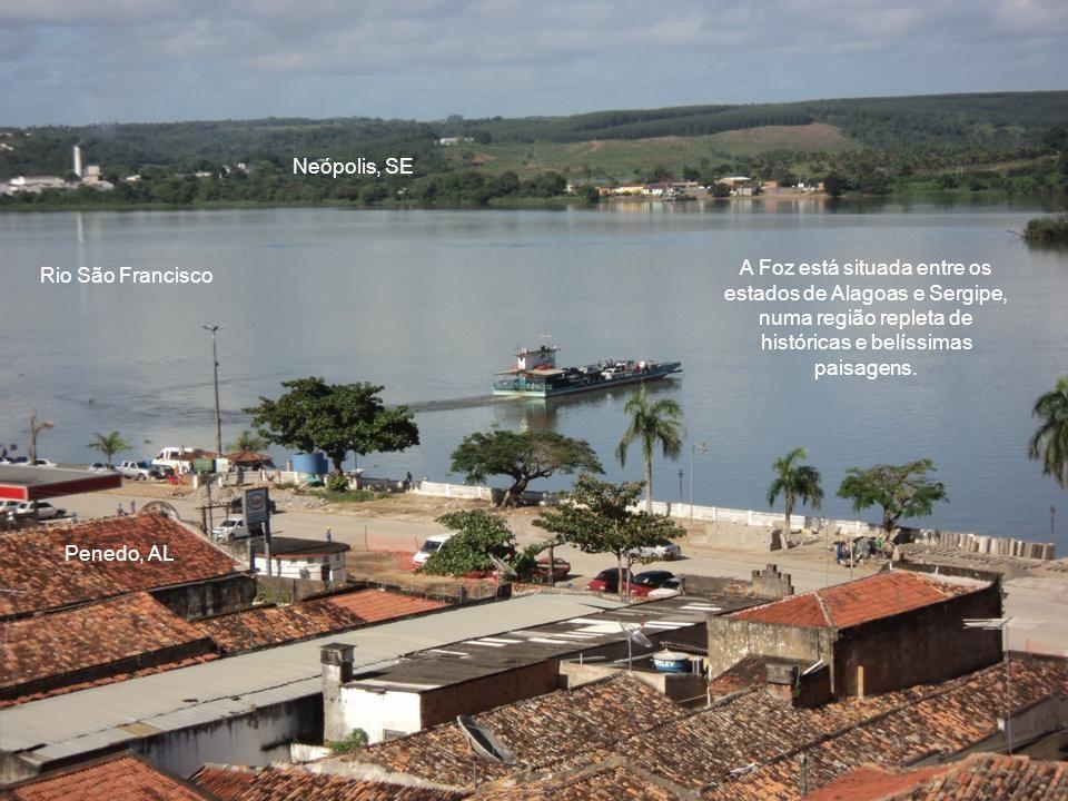 Neópolis, SE A Foz está situada entre os estados de Alagoas e Sergipe, numa região repleta de históricas e belíssimas paisagens.
