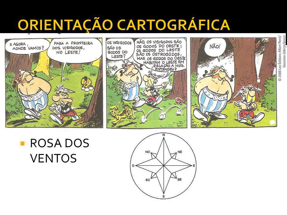 ORIENTAÇÃO CARTOGRÁFICA