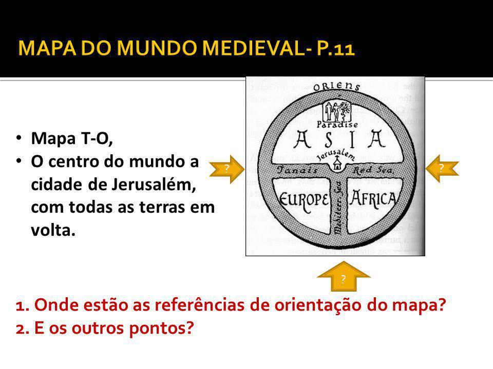 MAPA DO MUNDO MEDIEVAL- P.11