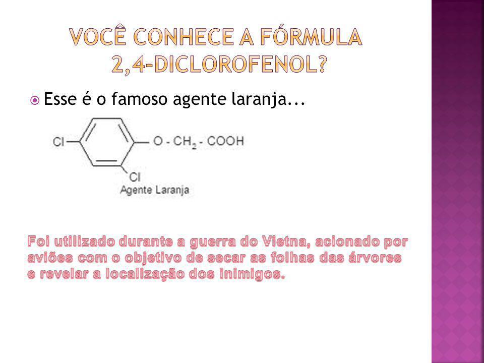 você conhece a fórmula 2,4-diclorofenol