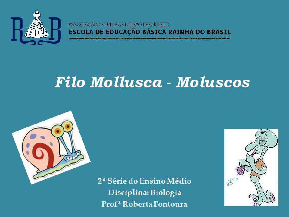 Filo Mollusca - Moluscos Profª Roberta Fontoura