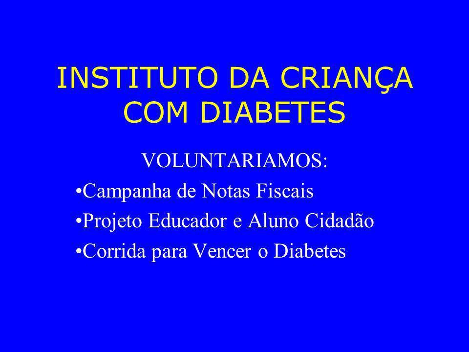 INSTITUTO DA CRIANÇA COM DIABETES