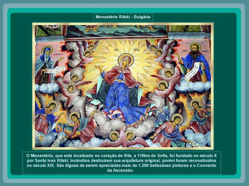 Monastério Rilski - Bulgária