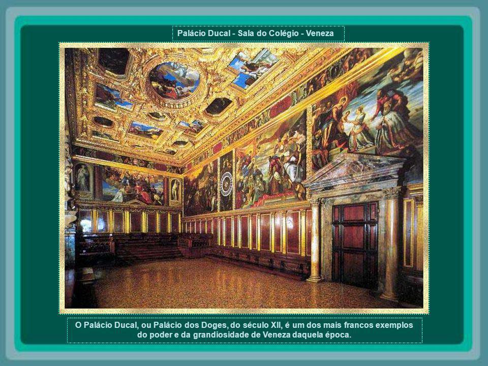 Palácio Ducal - Sala do Colégio - Veneza