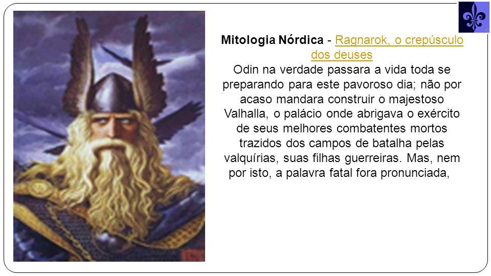 Mitologia Nórdica - Ragnarok, o crepúsculo dos deuses