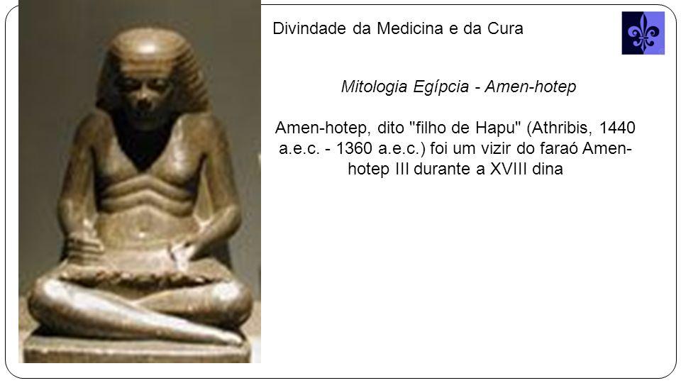 Mitologia Egípcia - Amen-hotep