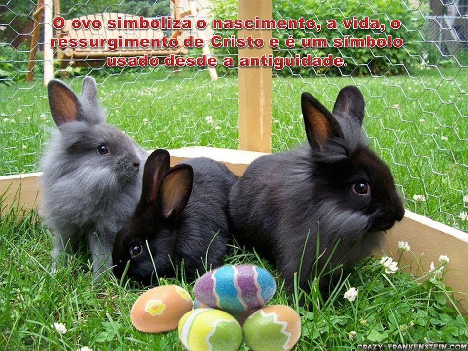 O ovo simboliza o nascimento, a vida, o ressurgimento de Cristo e é um símbolo usado desde a antiguidade.