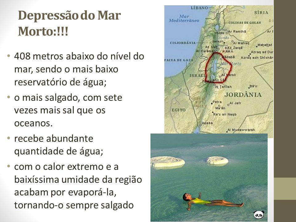 Depressão do Mar Morto:!!!