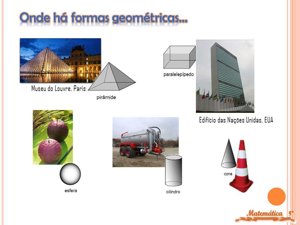 Onde há formas geométricas…