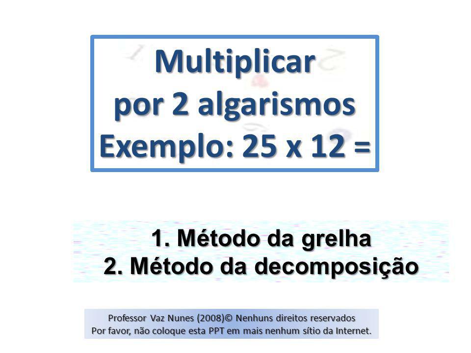 2. Método da decomposição