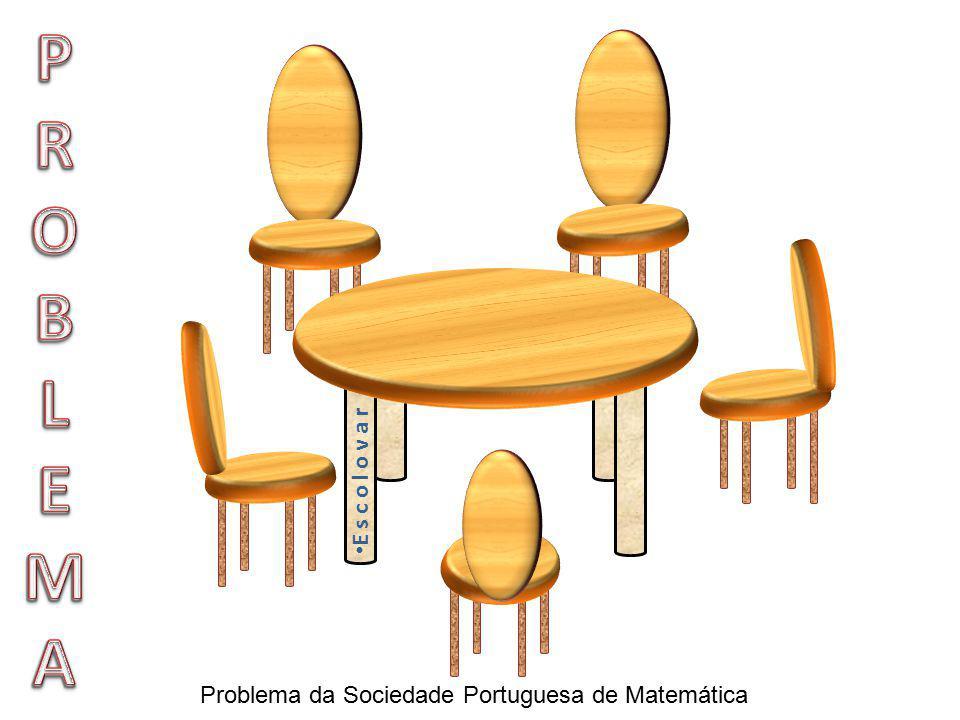 P R O B L E M A E s c o l o v a r Problema da Sociedade Portuguesa de Matemática