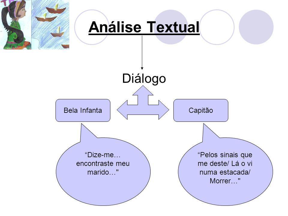 Análise Textual Diálogo Bela Infanta Capitão