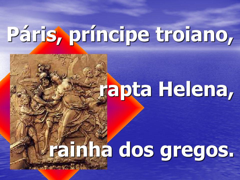 Páris, príncipe troiano,