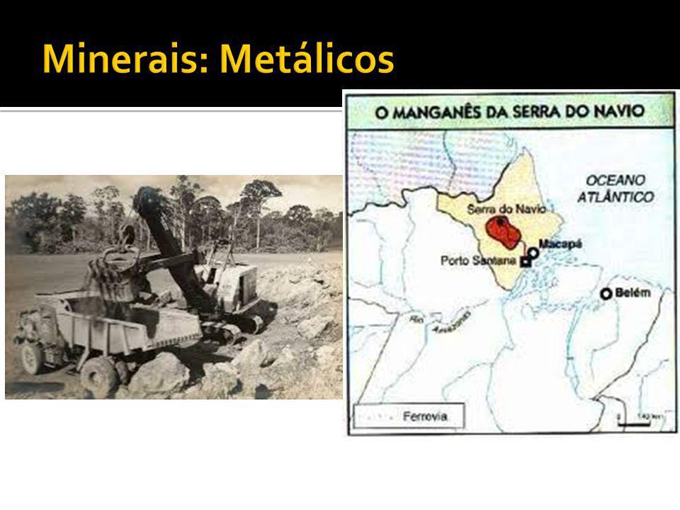 Minerais: Metálicos