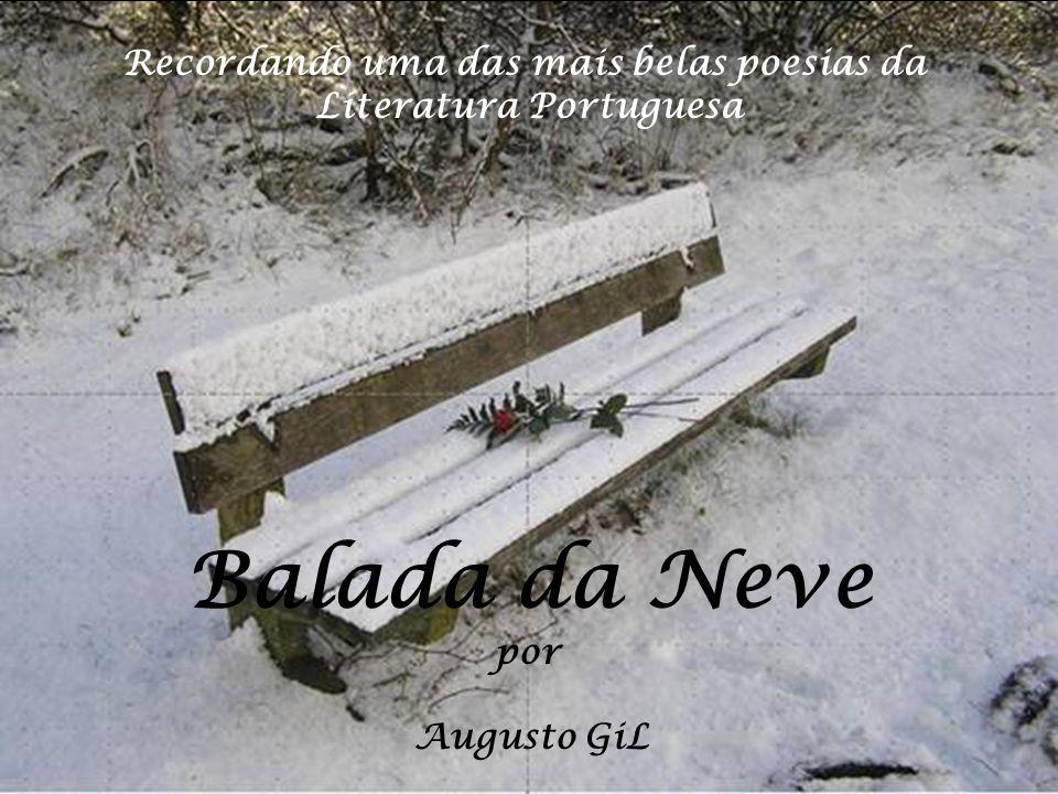 Recordando uma das mais belas poesias da Literatura Portuguesa