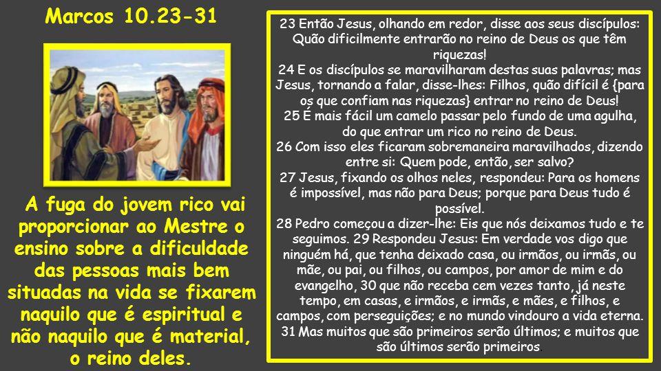 Marcos 10.23-31