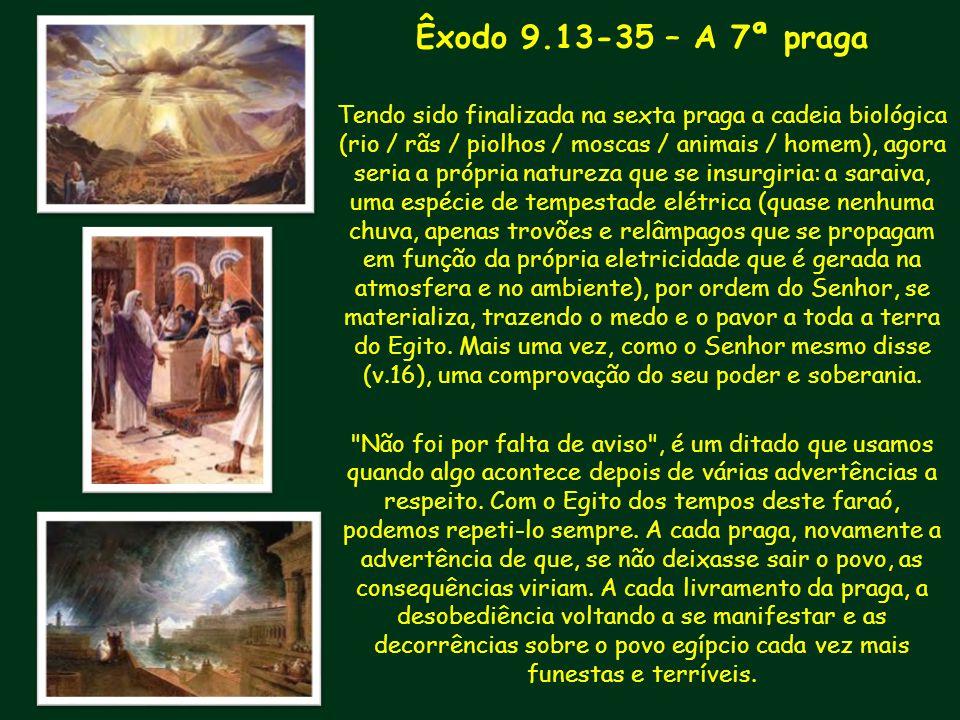 Êxodo 9.13-35 – A 7ª praga