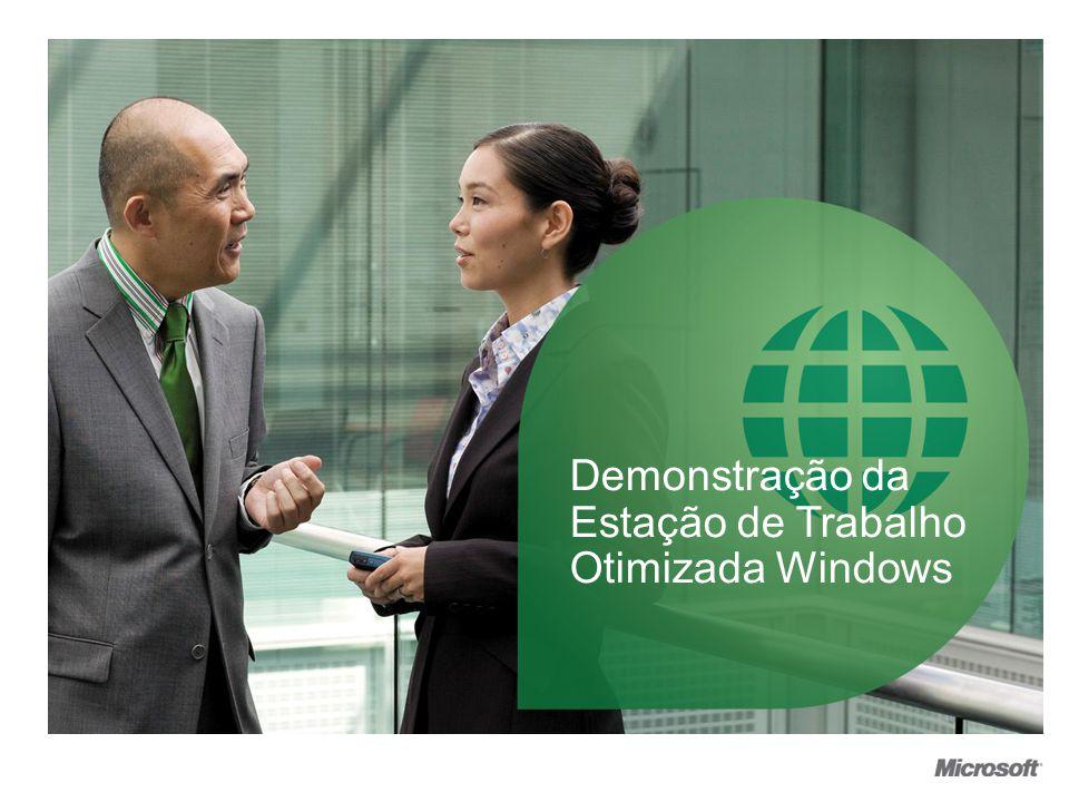Demonstração da Estação de Trabalho Otimizada Windows