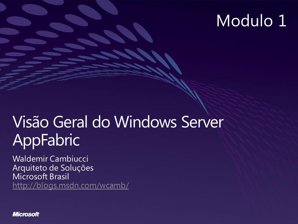 Visão Geral do Windows Server AppFabric