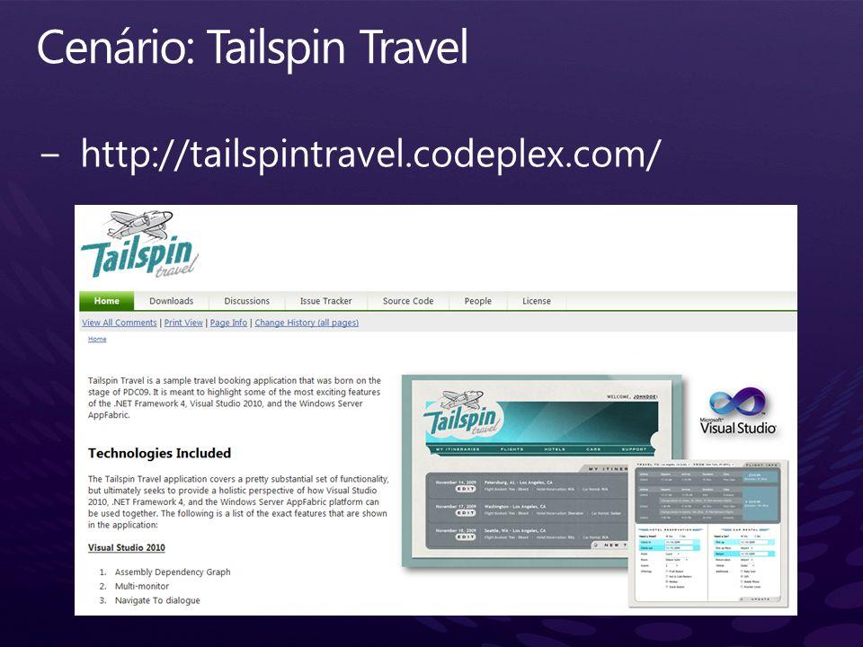 Cenário: Tailspin Travel