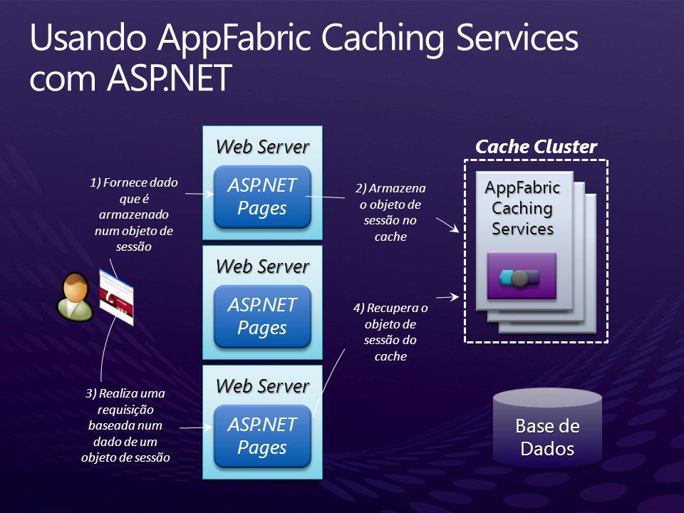 Usando AppFabric Caching Services com ASP.NET