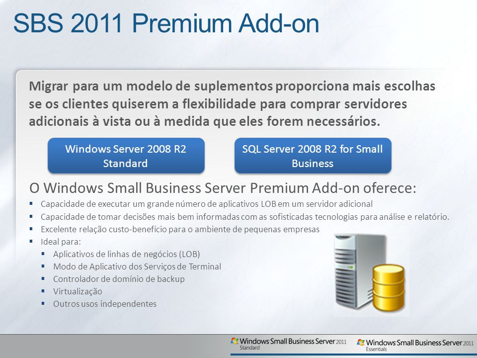 SBS 2011 Premium Add-on
