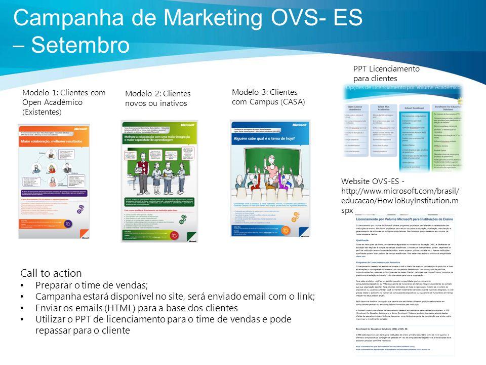 Campanha de Marketing OVS- ES – Setembro