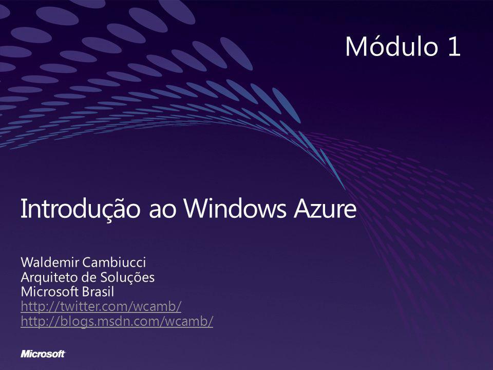 Introdução ao Windows Azure