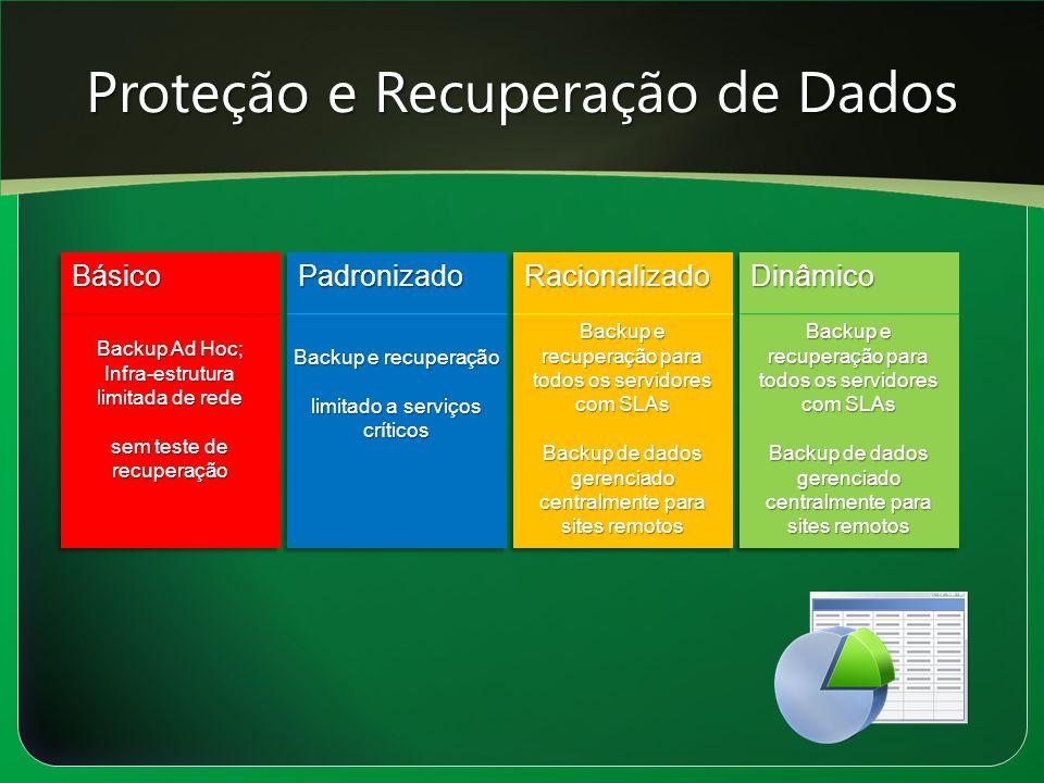 Proteção e Recuperação de Dados