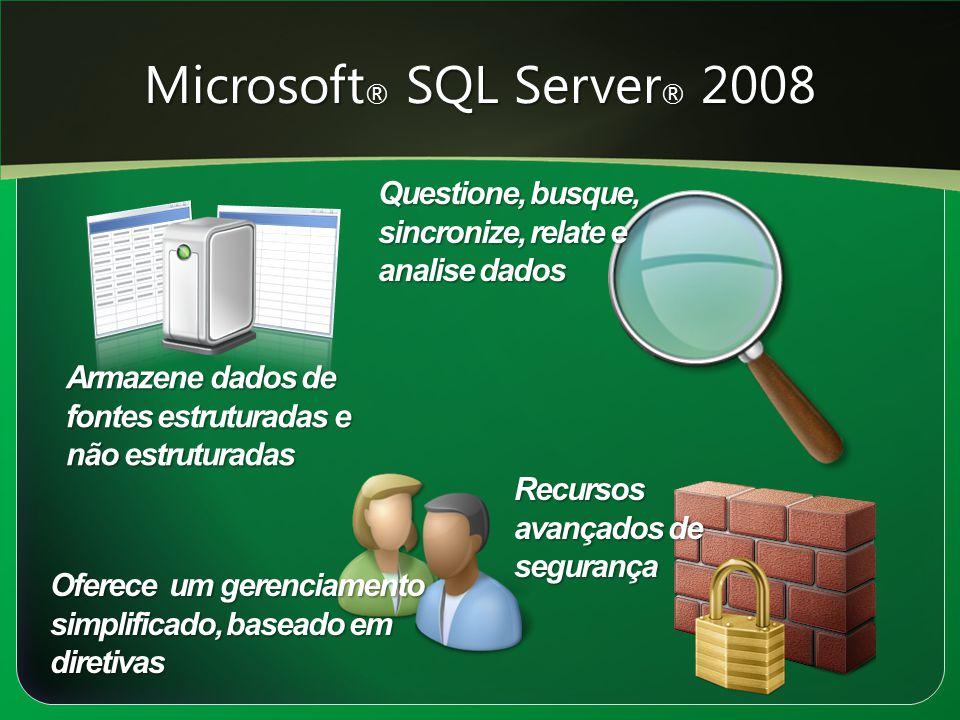 Microsoft® SQL Server® 2008