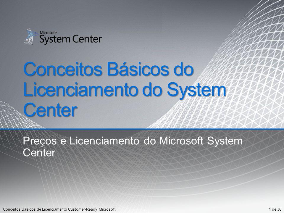 Conceitos Básicos do Licenciamento do System Center
