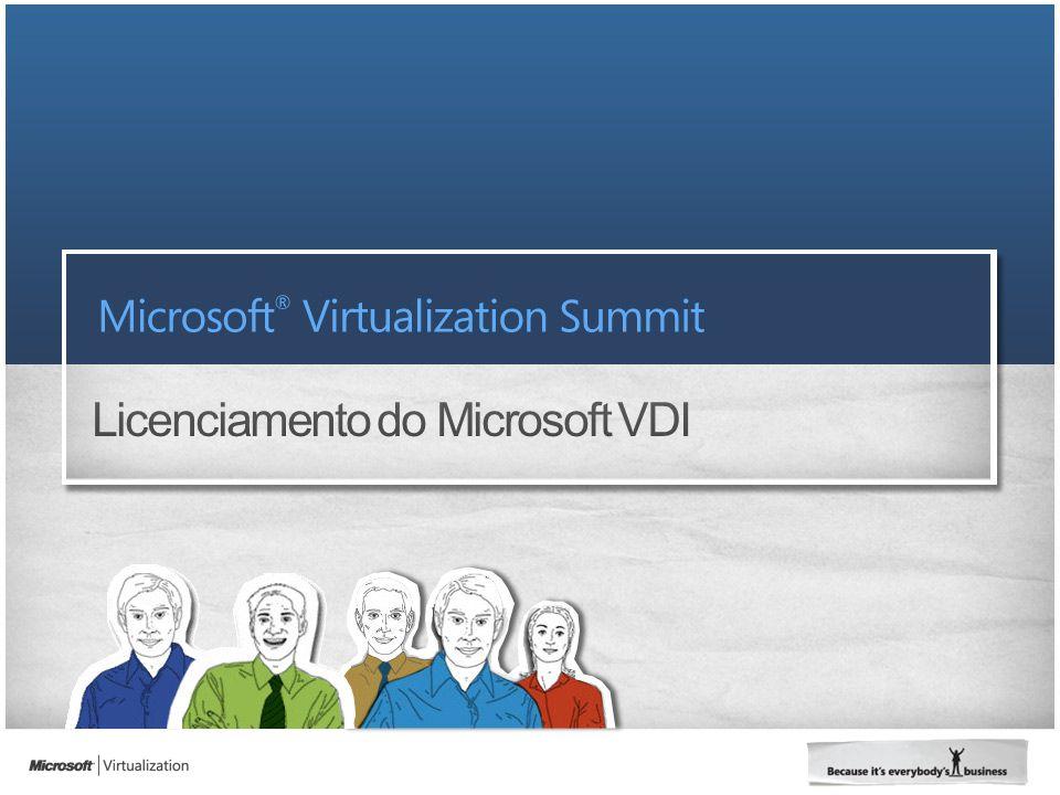 Licenciamento do Microsoft VDI