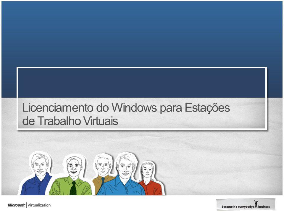 Licenciamento do Windows para Estações de Trabalho Virtuais