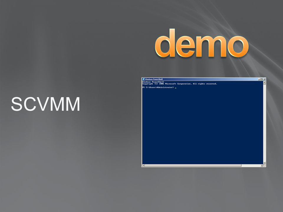 demo SCVMM 4/1/2017 8:56 PM PowerShell: HTML Service Report Demo:
