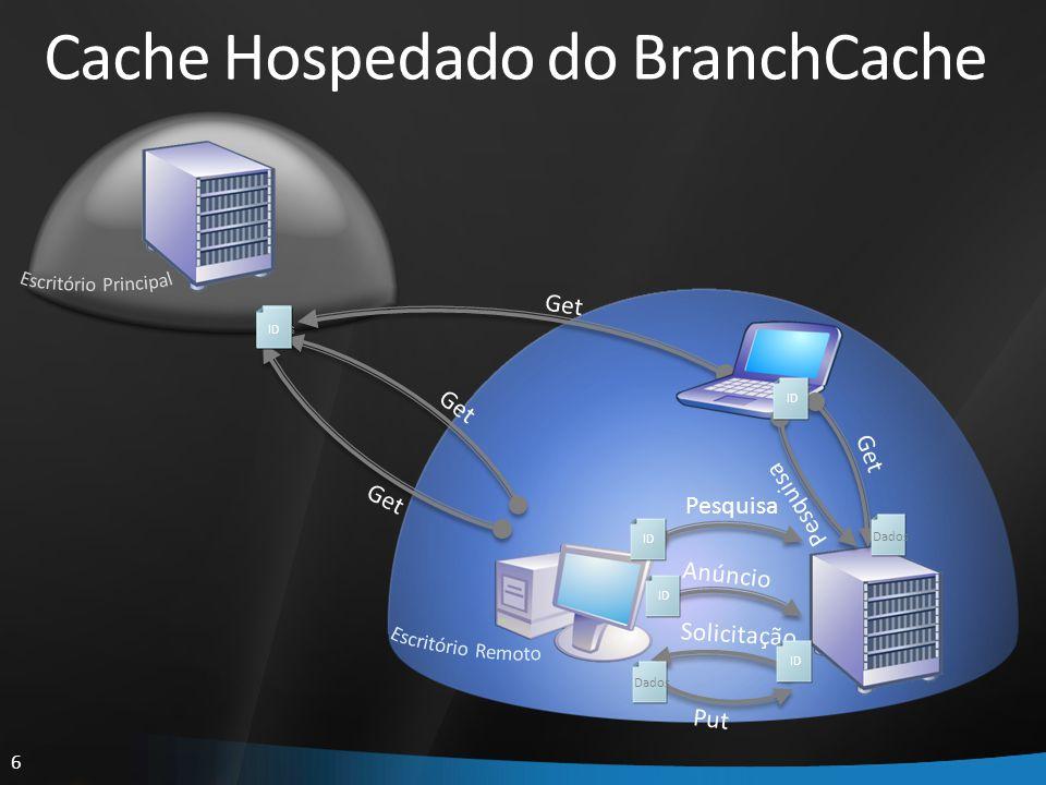 Cache Hospedado do BranchCache
