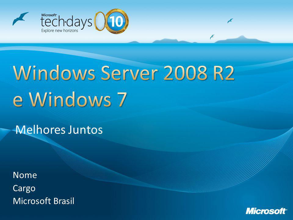 Windows Server 2008 R2 e Windows 7