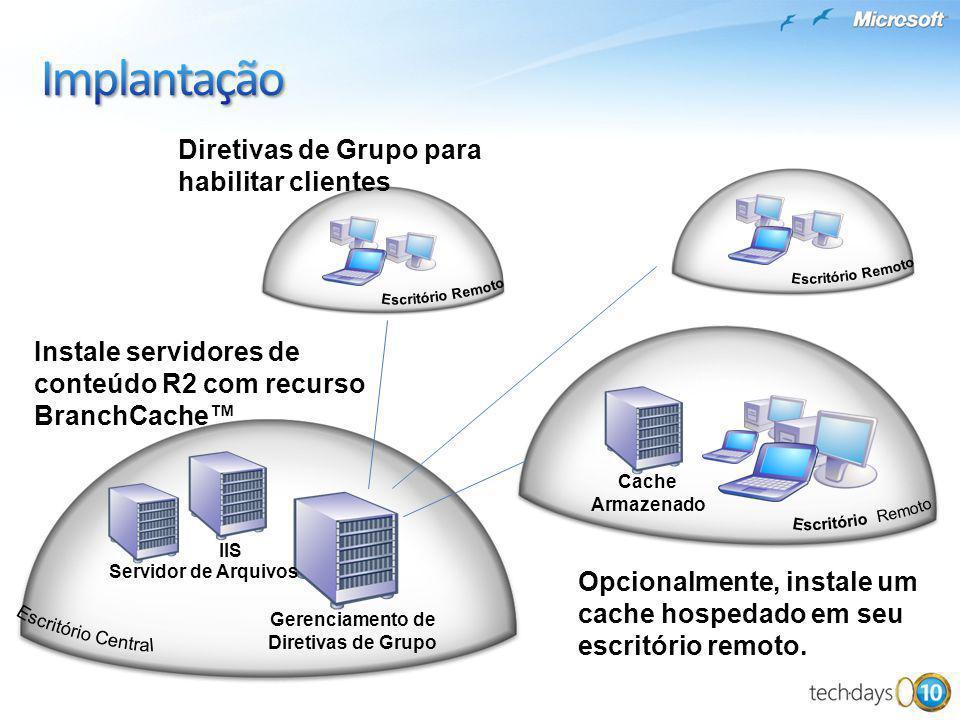 Implantação Diretivas de Grupo para habilitar clientes