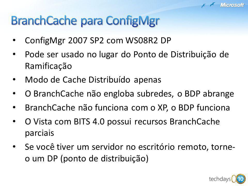 BranchCache para ConfigMgr