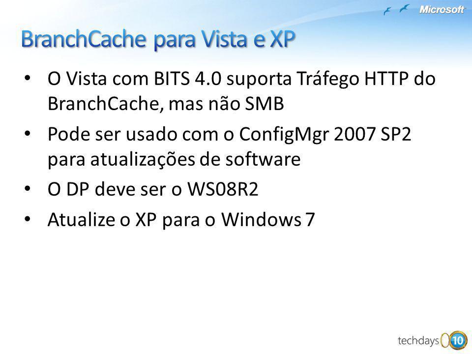 BranchCache para Vista e XP