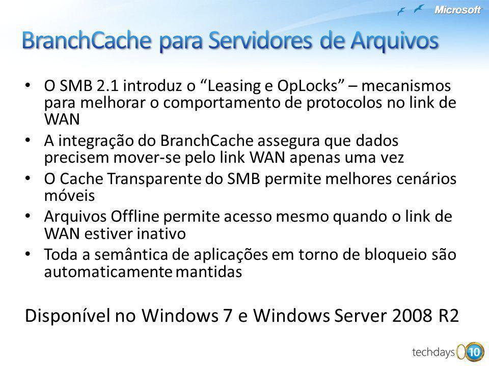 BranchCache para Servidores de Arquivos
