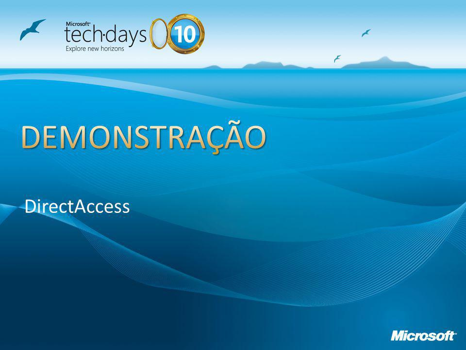 DEMONSTRAÇÃO DirectAccess