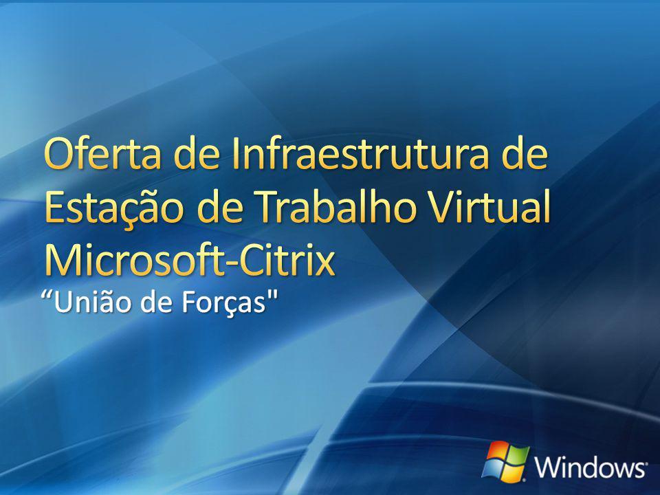 4/1/2017 8:56 PM Oferta de Infraestrutura de Estação de Trabalho Virtual Microsoft-Citrix. União de Forças