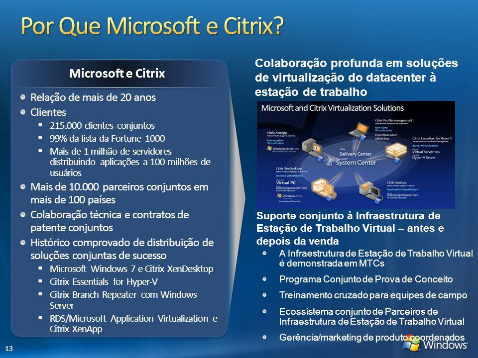 Por Que Microsoft e Citrix