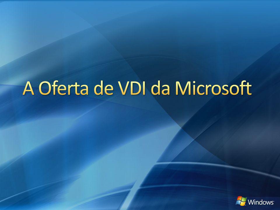 A Oferta de VDI da Microsoft