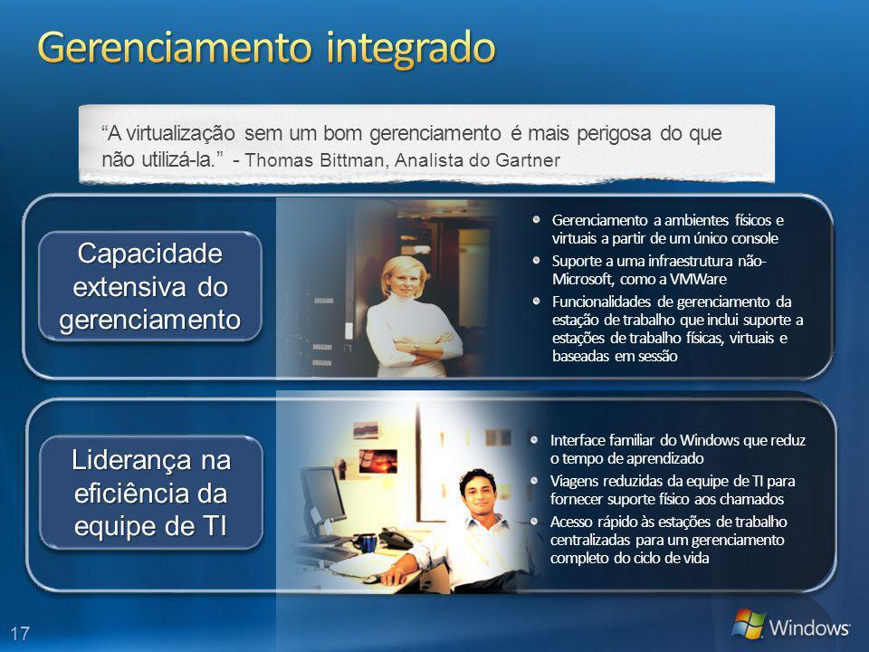 Gerenciamento integrado
