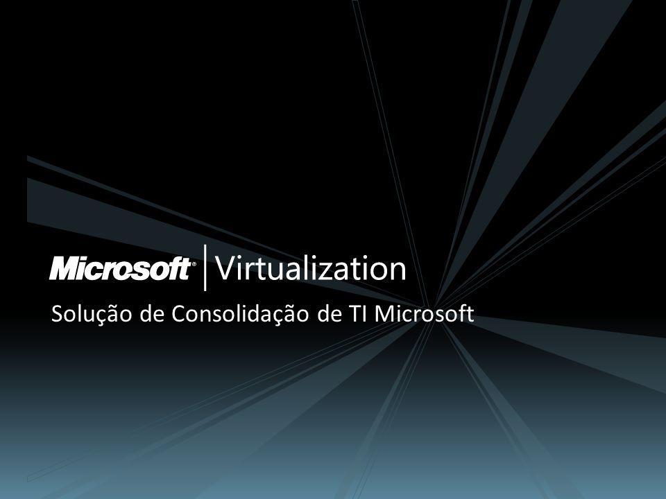 Solução de Consolidação de TI Microsoft