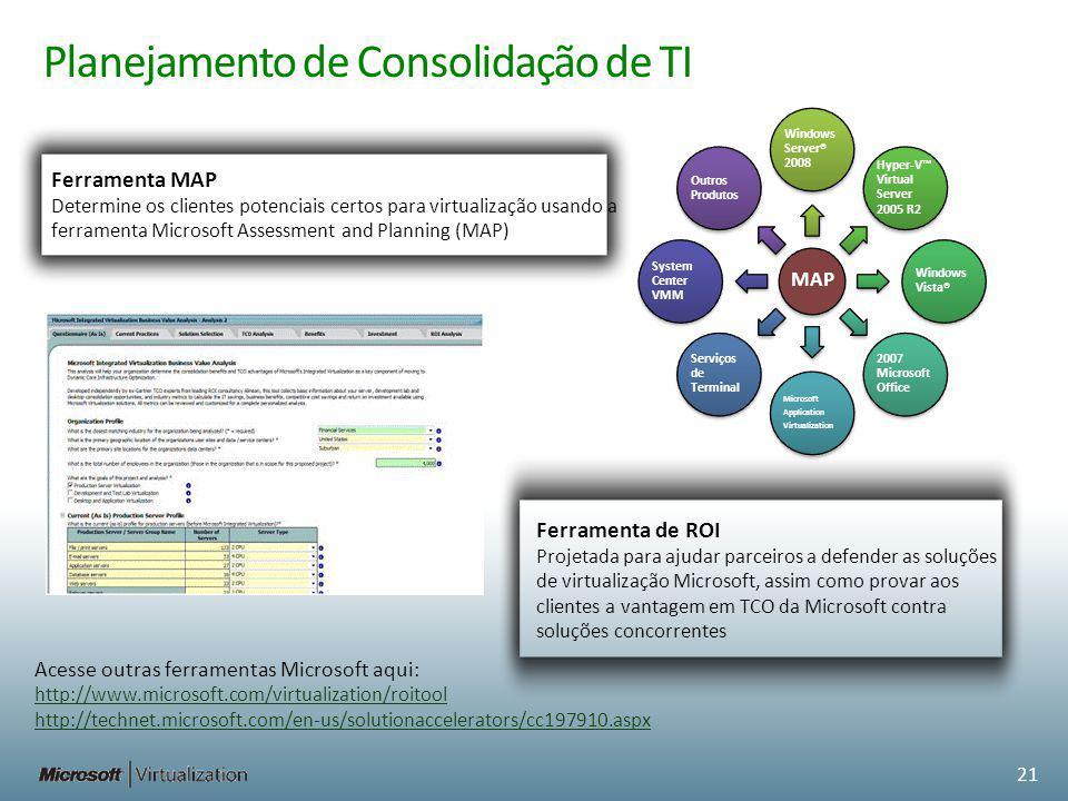 Planejamento de Consolidação de TI