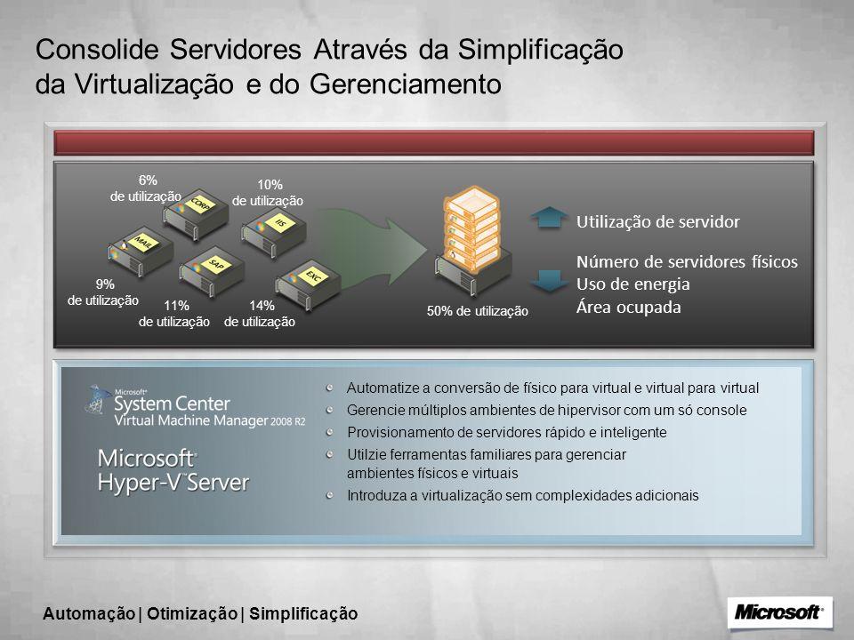 Automação | Otimização | Simplificação